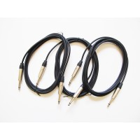 Pack cable instrumento 3 Metros (3 unidades)