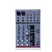 Consola Analoga Mixer de audio 6 canales Phonic AM85 GY
